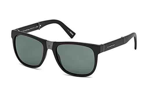 cf502e1f1330 Ermenegildo Zegna EZ 0049 Col 02N, Size 54-17-140 Men Folding Sunglasses