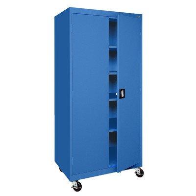 Sandusky Lee TA4R362472-06 Transport Series Mobile Storage Cabinet, - Storage Mobile Transport