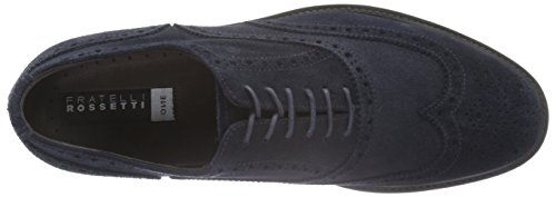 Bordello Fratelli Herren 44842 Brogue-schuhe Blue (marine)