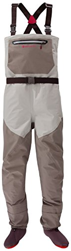 Rod Greys Fly - Redington Sonic-Pro Fly Fishing Waders - Medium Long, Feather Grey