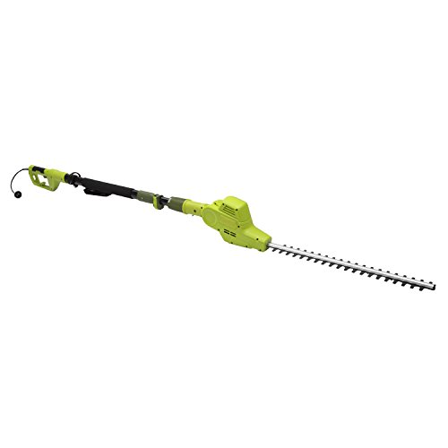 Sun Joe SJH902E 21-in 4-Amp Multi-Angle Electric Telescoping Pole Hedge Trimmer (Black And Decker 17 Inch Electric Hedge Trimmer)