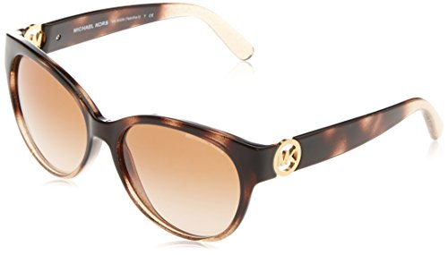 Michael Kors 6026 309613 Tortoise Gradient Glitter 6026 Cats Eyes Sunglasses - Glitter Eye Glasses Cat