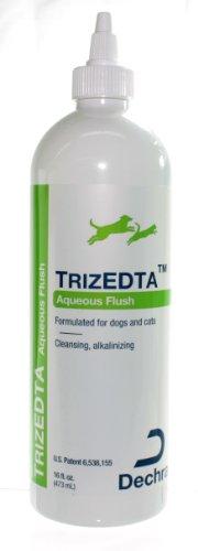 """DermaPet"" TrizEDTA Aqueous Flush (16oz) for Dogs and Cats, My Pet Supplies"