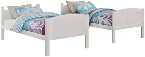 home, kitchen, furniture, bedroom furniture, beds, frames, bases,  beds 4 image Angel Line Creston Twin Over Twin Bunk Bed in USA