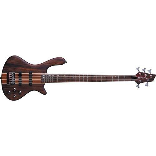 Washburn T24NMK Taurus 4-String Electric Bass Guitar with Gig Bag, Natural Matte Finish (Bass Electric Guitar Natural)