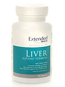 Extended Health - Liver Support 90 Caps