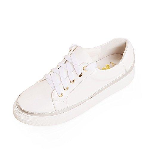 zapatos de moda coreana/Zapatos deportivos de suela gruesa/Zapatos/Zapatos de las mujeres de talla grande con plano D
