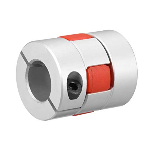 uxcell Shaft Coupling 14mm to 14mm Bore L35xD30 Flexible Coupler Joint for Servo Stepped Motor by uxcell