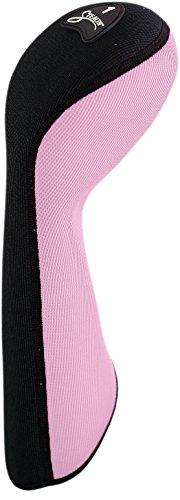 UPC 804296011005, Stealth Club Covers 11000 Driver Golf Club Head Cover, Pink/Black