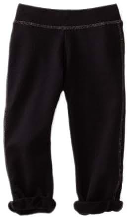 Soffe Big Girls' Football Capri Pant, Black, Small