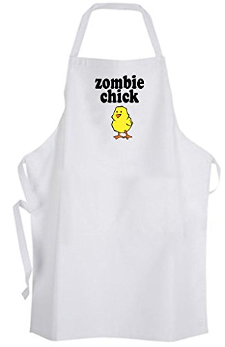 Zombie Chick – Adult Size Apron – Girly Girl