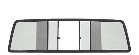 C.R. LAURENCE TSW850S CRL Duo-Vent Four Panel Slider with Solar Glass for (1989 Chevy Truck Parts)