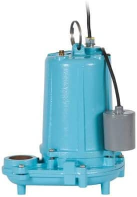 1 HP Cord Little Giant WS100HM-12-20 20 Ft 150 GPM Manual Submersible High Head Effluent Pump 208//230V