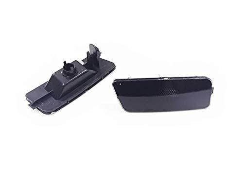 Ormax Smooth Black Front Bumper Side Marker for Golf MK6 GTI ()