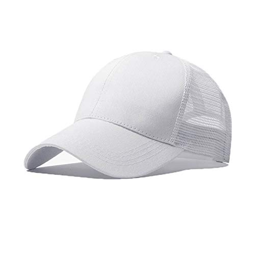 d9045668dfdf5d Baseball Cap for Men OutdoorCaps Sunscreen Hats,White