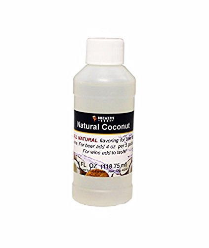 - Brewer's Best Natural Beer and Wine Fruit Flavoring (Coconut)