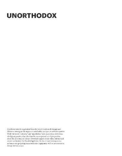 Read Online Unorthodox ebook