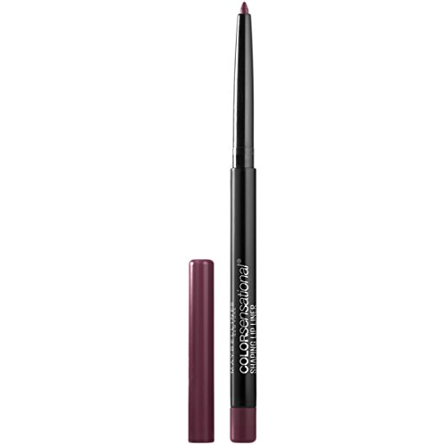 Maybelline Makeup Color Sensational Shaping Lip Liner, Rich Wine, Burgundy Lip Liner, 0.01 oz