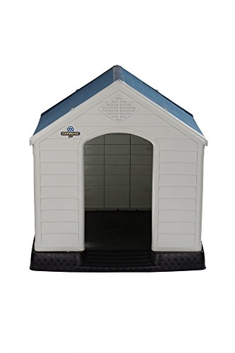 Confidence-Pet-XL-Waterproof-Plastic-Dog-Kennel-Outdoor-Winter-House-EXTRA-LARGE