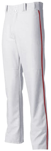 A4 Men's Pro Style Open Bottom Baseball Pant