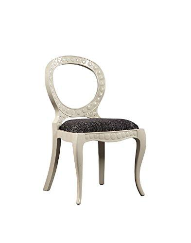 Sloane Elliot SE0072 Felix Side Chair, White, Set of 2 by Sloane Elliot