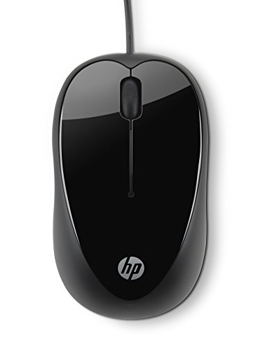 HP Wired USB Mouse X1000 (Black)