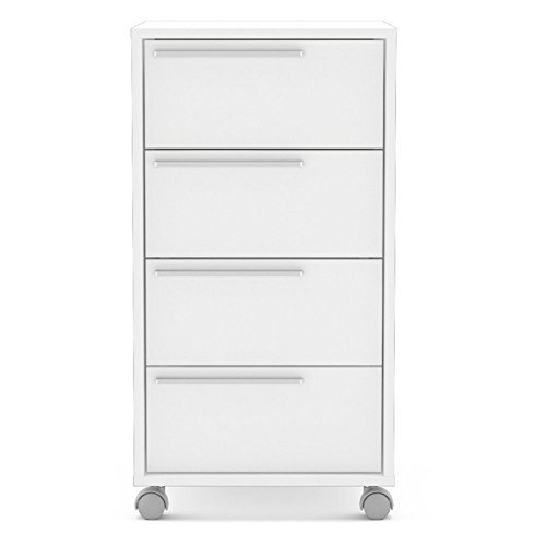 Polifurniture 120924880009 Maia Four Drawer Cabinet, White