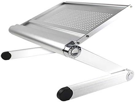 Projektor Ergonomischer Halter Aluminiumlegierung Desktop-Winkel verstellbaren Notebook-Standfuß Folding Hebe Mac-Computer Desktop-Kühler Basisbüroklammer Ständer