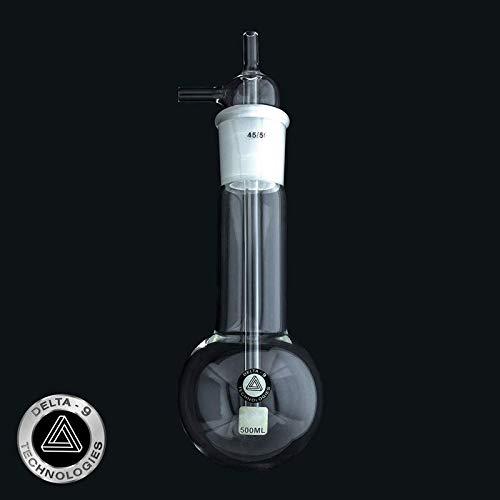 Delta-9 Technologies Vacuum Cold Trap 300 Mm Length W/ 500 Ml Reservoir by Delta-9 Technologies