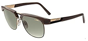 Cazal 9065 Sunglasses 002SG Brown Striated-Gold/Sand Gradient Lens 54mm