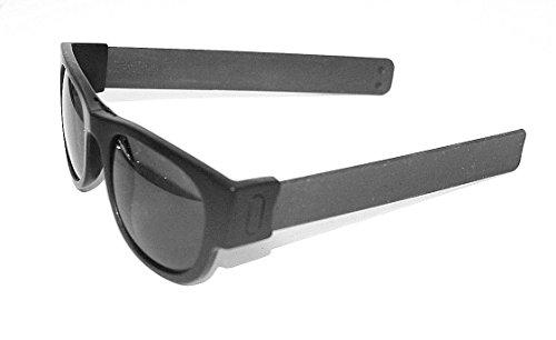 Slapsee Folding Sunglasses Dark - Fast Shipping Sunglasses