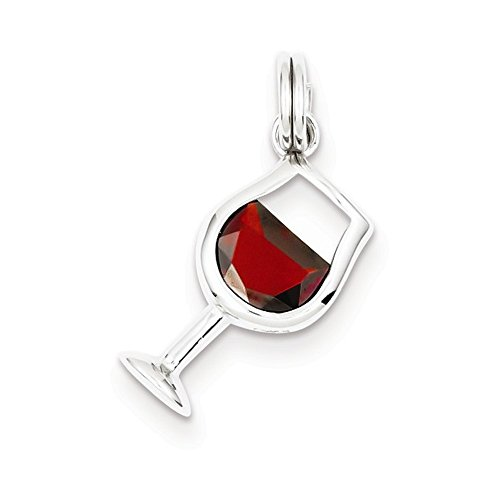 wine glass charms italian - 9