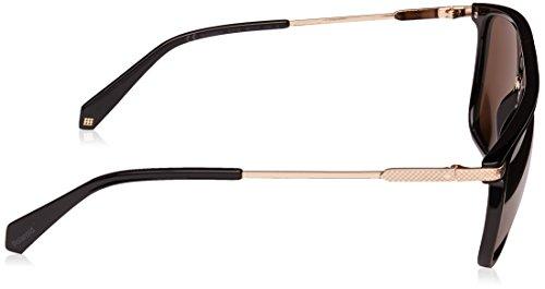 polarisé noir plat doré 2060 56 Noir S Or PLD Brillant 807 Polaroid lunettes miroité de soleil AXII0n4