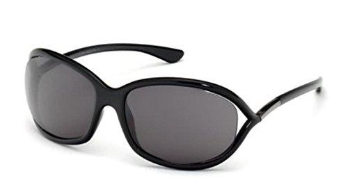 Tom Ford 0008 199 Black Jennifer Wrap Sunglasses Lens Category 3