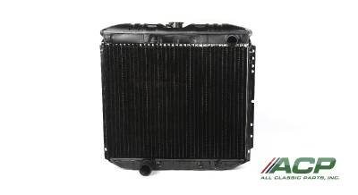 - 1969-1970 Ford Mustang 302/351 Radiator 3 Row Large Tube O/e Style NEW No Ac