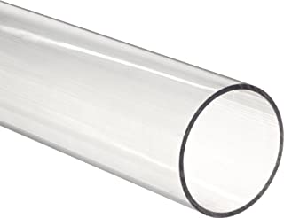 Clear Polycarbonate Tubing, 1-1/8