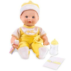 Little Mommy Real Loving Baby Cuddle & Coo Doll - Yellow Velour (Mommy Real Loving Baby Doll)