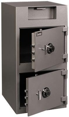 Front Loading Deposit Safe (Gardall DS3920C Two Door Front Loading Deposit Safe)
