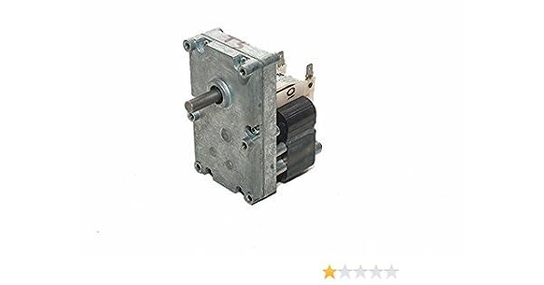 Thermorossi - Motorreductor Rpm1 Cod. 60011246 para estufas de pellets Idro: Amazon.es: Bricolaje y herramientas