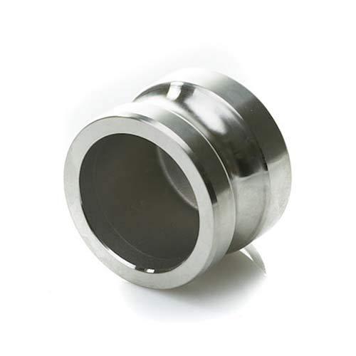 Stainless Steel 2 Camlock Male Dust Plug