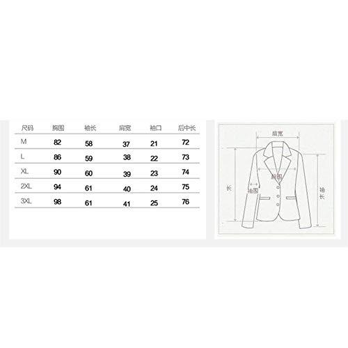 Giubbino Outerwear Tailleur Elegante Quadretti Maniche Bavero Bolawoo Ufficio Plus Da Fit Slim Classiche Di Primaverile Blazer Lunghe Prodotto Mode Marca Autunno Donna Business Giacca Grau Moda qxz1qBwAT