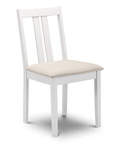 Julian Bowen Rufford Dining Chairs Light Wood Set of 2