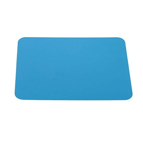 Silicone Anti-Slip Mousepad Slim Gel Mouse Pad Mat (Blue) - 3
