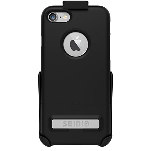 Seidio Surface Combo Case for Apple iPhone 7 - Black/Black ()