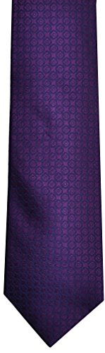 Calvin Klein Mens Necktie, Sparkle Neat Steel Purple