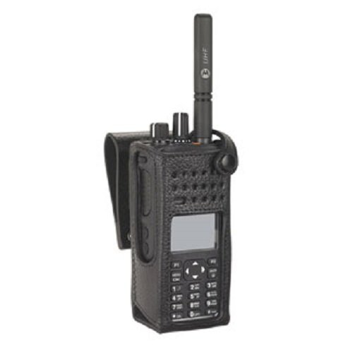 PMLN5842A PMLN5842 - Motorola Hard Leather Carry Case 2.5in Swivel LKP FKP, Radio not included