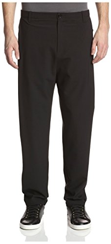 Silent by Damir Doma Men's Pistis Pleated Pants, Black, - Damir Men Doma