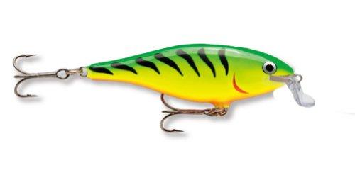 Rapala Shallow Shad Rap 05 Fishing lure (Firetiger, Size- 2.5)