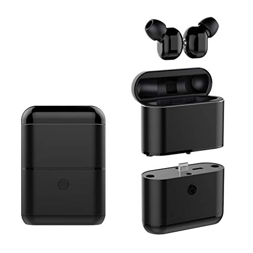 Nine Color Design in-Ear Headset,Roisay Dynamic Music Effects TWS Wireless Bluetooth Headset 5.0 Headphones Sport Mini Earbuds Compact & Portable Earphone (C)