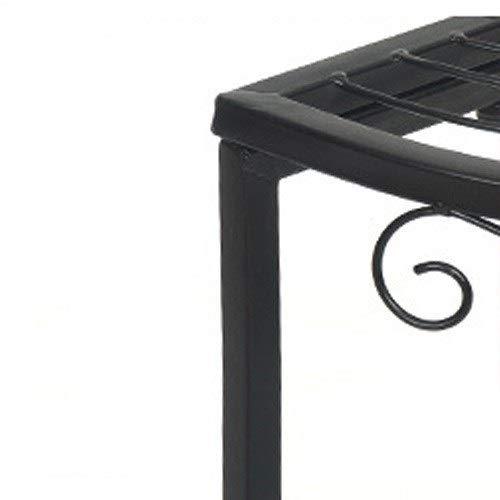Amazon.com: Amgker - Soporte para maceta de hierro forjado ...